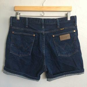 Vintage Wrangler High Rise Denim Shorts